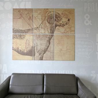 Grafika ir piešiniai ant sienų / Tadas Šimkus / Darbų pavyzdys ID 13778