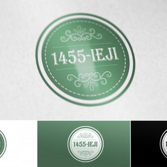 1455-ieji blogo apie knygas logotipas. www.1455.lt