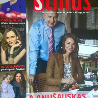 """Stilius žurnalo """"Stilius"""" viršeliui ir fotosesijai"""