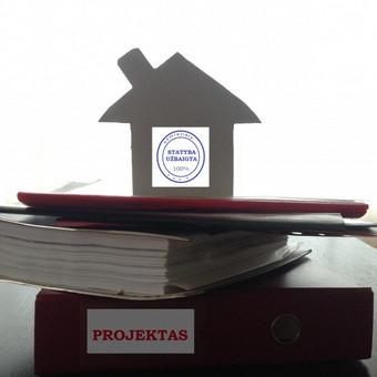 Statybos užbaigimo procedūros, kitaip žinomos kaip namų pridavimas Statinių inspekcijai
