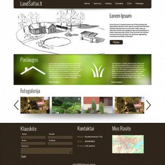 Tinklalapio dizainas