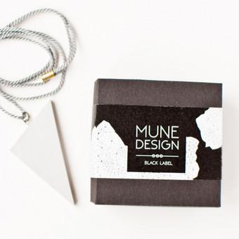 MUNE Design / Black label linija. www.mune.lt