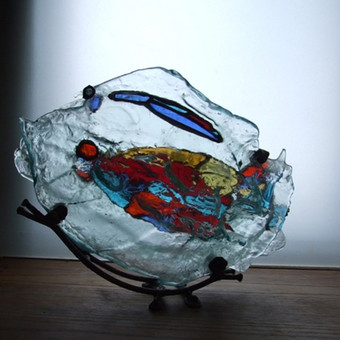 Vitražai, stiklo interjero detalės / Lolita Sadauskaite / Darbų pavyzdys ID 16557