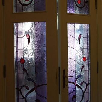 Vitražai, stiklo interjero detalės / Lolita Sadauskaite / Darbų pavyzdys ID 16564