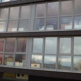 Plėvelės klijavimas, stiklo sienelės / Stiklo Spalvos / Darbų pavyzdys ID 17562