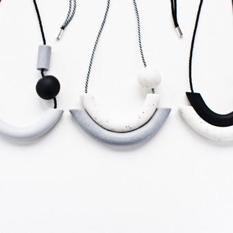 MUNE Design / Black label kaklo papuošalai.  www.mune.lt