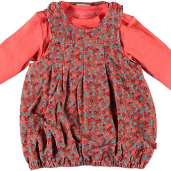 Fixoni® suknelė ir smėlinukas BEATE mergaitėms  Privalumai: Švelni ir kokybiška smulkaus velveto suknelė ir trikotažinis smėlinukas puikiai dera kartu. Suknytė su medvilniniu trikotažo ...