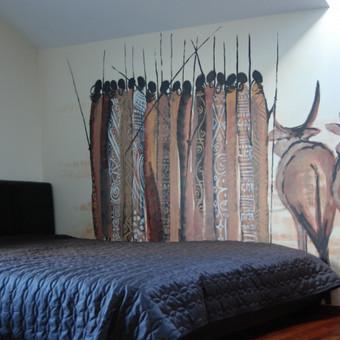 """Sieninė tapyba -""""Masajai"""""""