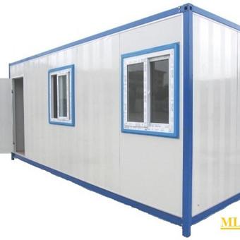 Surenkamas mobilus konteineris 2.5x6