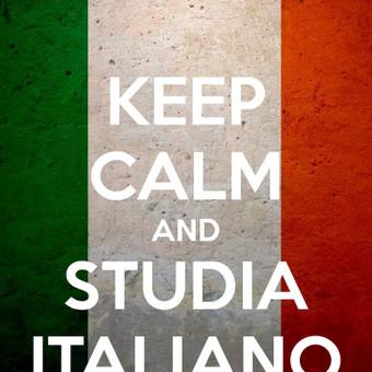 Italų kalbos pamokos / Aistė / Darbų pavyzdys ID 19893