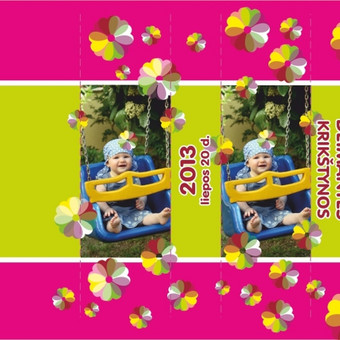 Saldainių popieriukas vaiko šventei (3 var. x pusvalandi)
