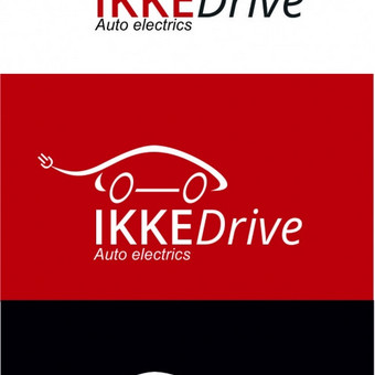 Ikke Drive logotipas