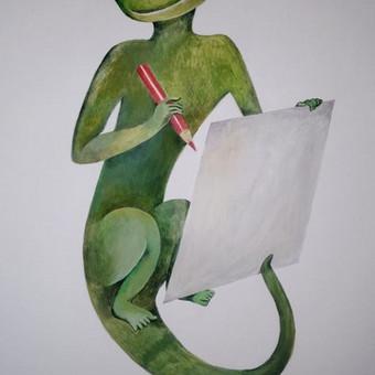Piešinys ant sienos. Žalia smilga. Švenčionys. https://www.facebook.com/UAB-%C5%BDalia-smilga-391242601055860/?fref=ts