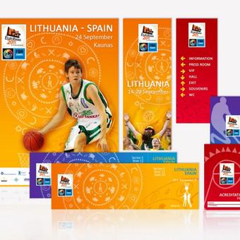 """""""Eurobasket 2011"""" firminio stiliaus gairės.   UAB """"Visetas""""  """