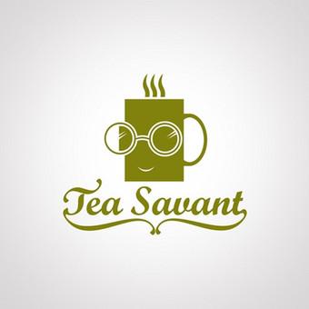 """Logotipo pasiūlymas arbatos parduotuvei """"Tea Savant""""   Konkursinis pasiūlymas """