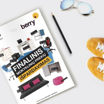 Katalogo viršelis | BERRY | Baldai Catalog cover | BERRY | Furniture