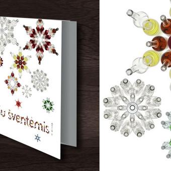 Kalėdinė atvirutė | Stumbras/ stipriųjų alkoholinių gėrimų gamintojas Christmas card | Stumbras/ Producer of strong alcoholic drinks