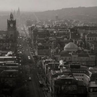 Edinburgo miesto panoraminiai vaizdai 2011.