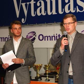 Su tuometiniu Kauno m. meru - A. Kupčinsku