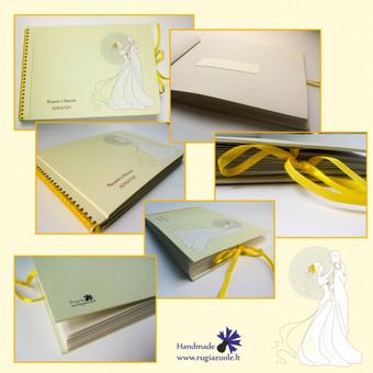 Vestuvių sveikinimų knyga.