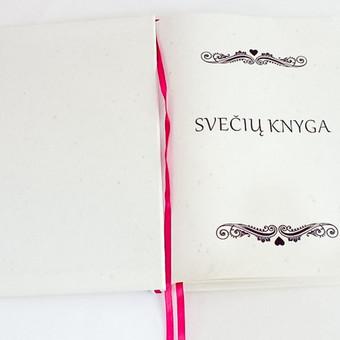 Vestuvinė sveikinimų knyga.