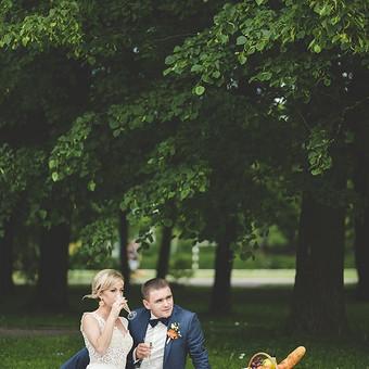 Stilizuotas piknikas jauniesiems - ir proga atsipūsti, ir mintis fotosesijai :)