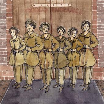 """""""Canary girls"""" kontribucija parodai apie Pirmą Pasaulinį karą"""