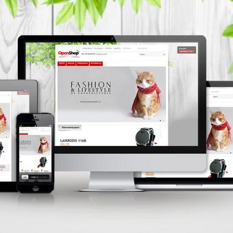 Užsakovas: internetinė parduotuvė Openshop.lt (Lietuva) www.openshop.lt