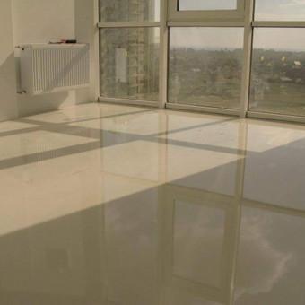 """Pramoninės ir dekoratyvinės liejamos grindys / UAB """"PavaBaltic"""" / Darbų pavyzdys ID 27778"""