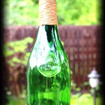 Originalios interjero detalės iš perpjautų stiklinių butelių / Romanas RAnamai / Darbų pavyzdys ID 27864