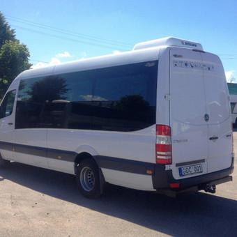 Keleivių pervežimas mikroautobusais Lietuvoje ir užsienyje / Lina Česonytė / Darbų pavyzdys ID 29359