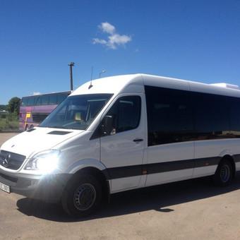 Keleivių pervežimas mikroautobusais Lietuvoje ir užsienyje / Lina Česonytė / Darbų pavyzdys ID 29358