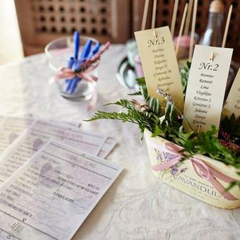 Vestuvių, švenčių dekoravimas / Miglė Či / Darbų pavyzdys ID 30446