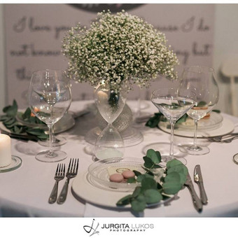 Vestuvių, švenčių dekoravimas / Miglė Či / Darbų pavyzdys ID 30448