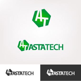 """Farmacijos kompanijos """"Astatech"""" logotipas"""