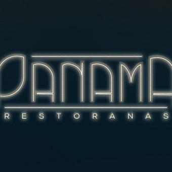 """Restorano """"Panama"""" logotipas"""