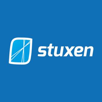 """Web hosting'o kompanijos """"Stuxen.com"""" logotipas"""