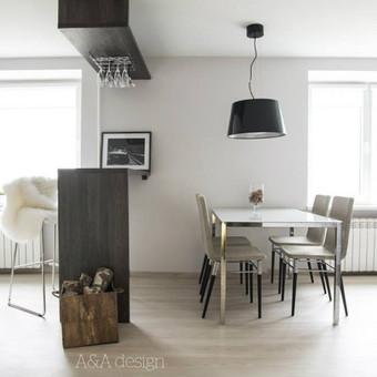 73 kv.m labai erdvus ir šviesus dviejų kambarių butas, viengungiui. Skandinaviškas minimalizmas. Šis butas turi atskira įėjimą iš lauko, labai didelį prieškambarį, svetainę sujungta su  ...