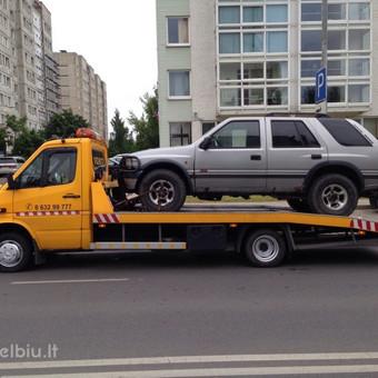 Technine pagalba kelyje Tralas Vilniuje / Darius / Darbų pavyzdys ID 31978
