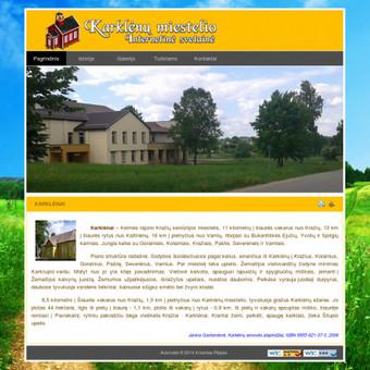 Karklėnų miestelio internetinės svetainės sukūrimas / programavimas. http://karklenai.puslapis.in