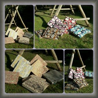 Gobelenines pagalveles su porolono užpildu,  terasoje ar ant žolės!