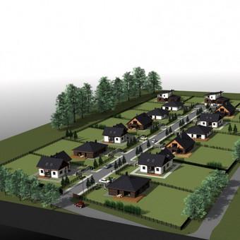 Gyvenamųjų namų projektavimas Mažeikiuose