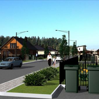 Gyvenamųjų namų projektai; visos architektūrinio projektavimo paslaugos