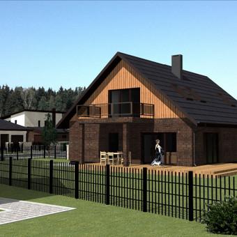 Gyvenamųjų namų projektai; visos architektūrinio projektavimo paslaugos Mažeikiuose ir kituose rajonuose