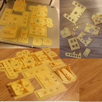 3D Spausdinimas / Viktoras / Darbų pavyzdys ID 36132
