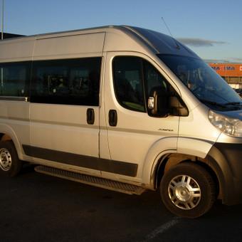 Keleiviu kroviniu pervezimas / Rimas / Darbų pavyzdys ID 36696
