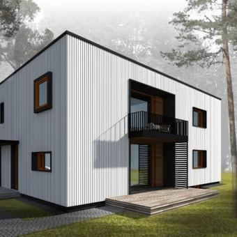 Architektai / Erdvės architektūra / Darbų pavyzdys ID 36964