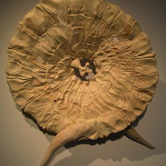 Dekoratyvinė skulptūra interjerui. Medis h - 80 cm.