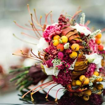 Vestuvinis floristinis dekoravimas / Isdeco / Darbų pavyzdys ID 41387