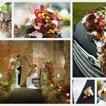 Vestuvinis floristinis dekoravimas / Isdeco / Darbų pavyzdys ID 41386